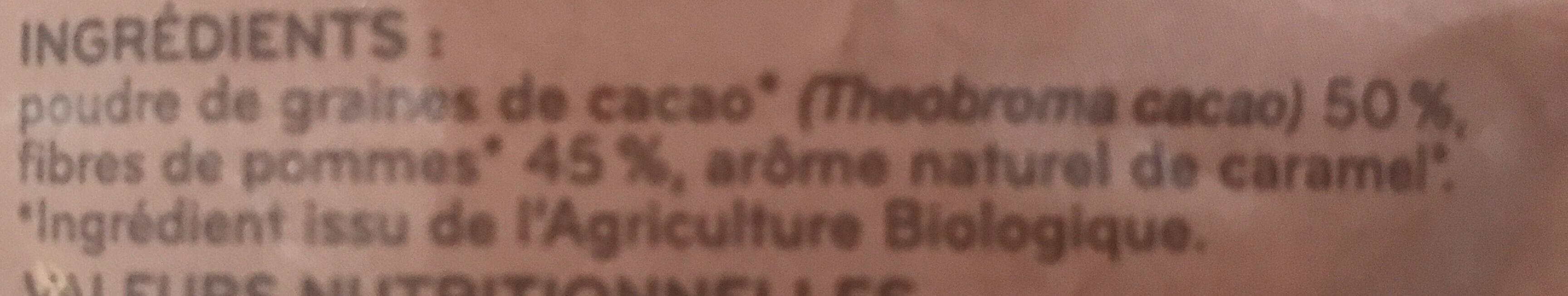 Cacao Superfood en biogranules - Ingrédients