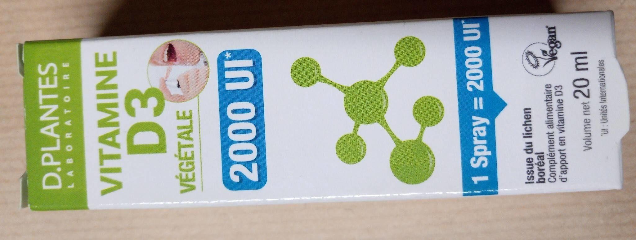 Vitamine D3 végétale - Product - fr