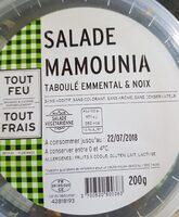 Salade mamounia - Prodotto - fr