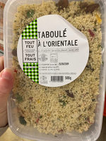 Taboule a l'orientale BREDIAL - Produit - fr