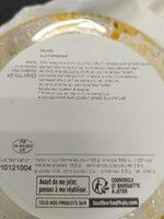Salade parmesane - Valori nutrizionali - fr