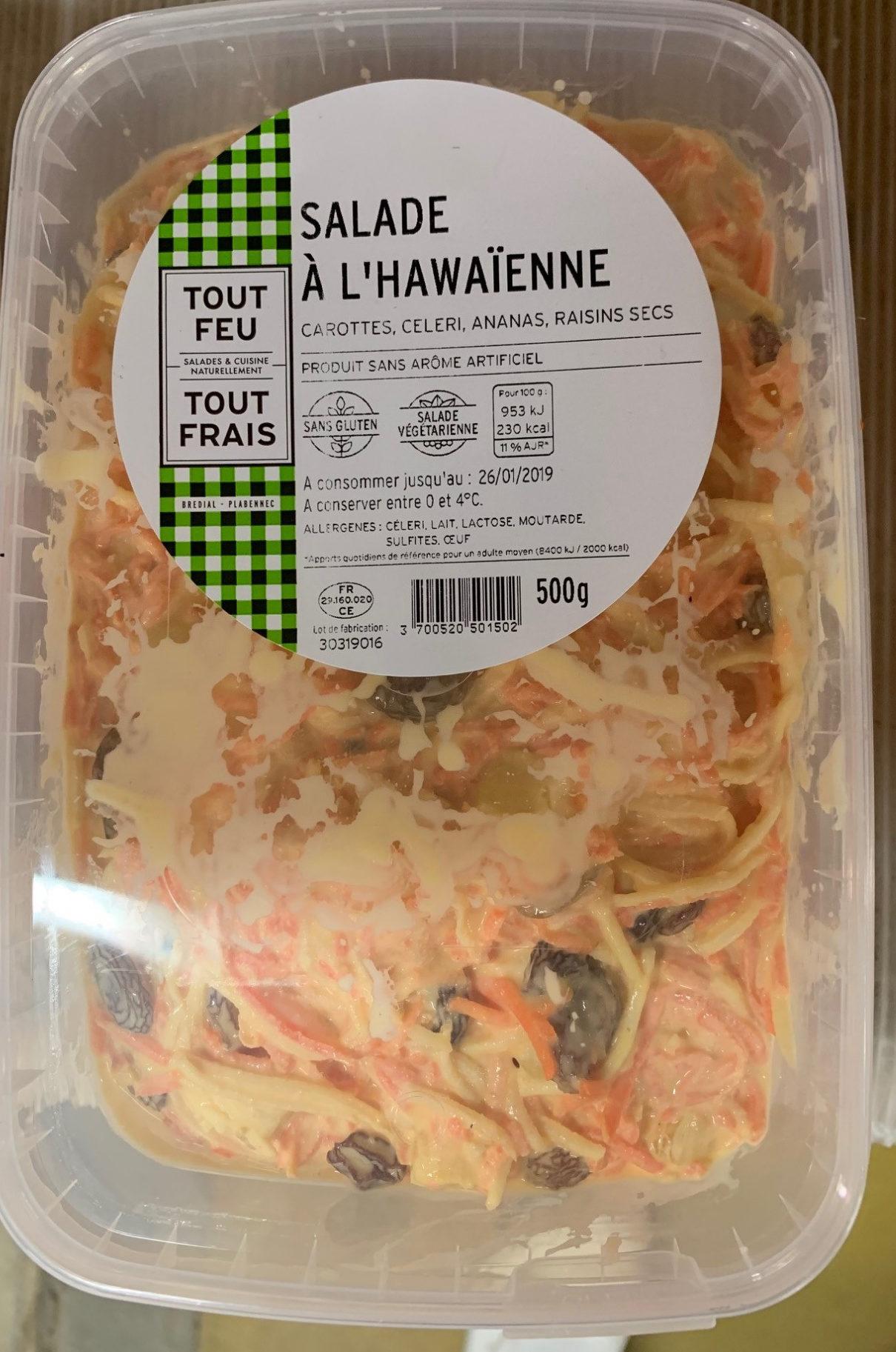 Salade à l'Hawaïenne - Prodotto - fr