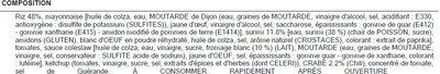 Salade Nautilus BREDIAL - Ingredienti - fr