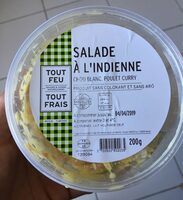 Salada a l'Indienne - Chou blanc, poulet curry - Prodotto - fr