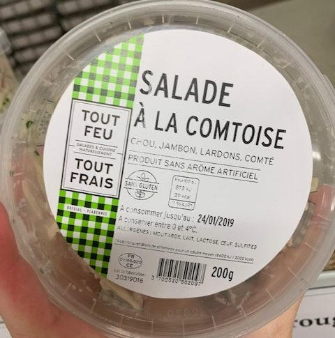 Salade à la comtoise - Produit