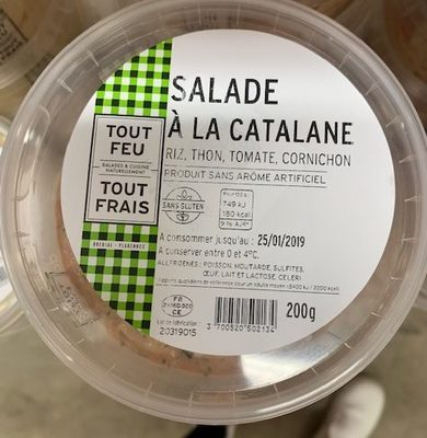 Salade à la catalane - Product - fr