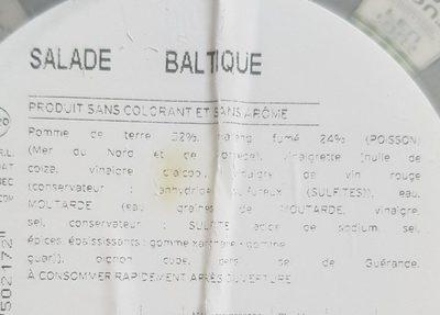 Salade Baltique - Ingredients