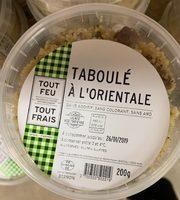 Taboulé à l'orientale - Prodotto - fr