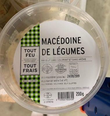 Macedoine De Legumes 200G - Produit - fr