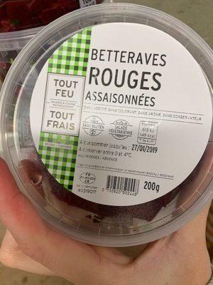 Betteraves rouges assaisonnees - Prodotto - fr