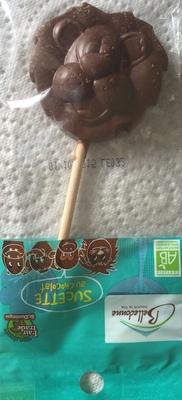 Sucette au chocolat - Produit - fr