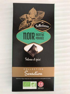 Chocolat noir menthe poivrée - Produit