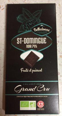 ST-DOMINGUE noir 74% - Produit - fr