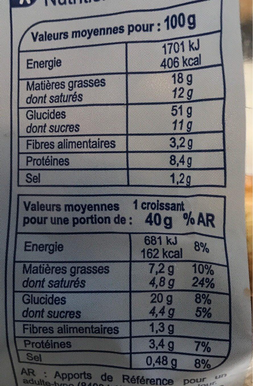 Pain maïs graines de courge 350g tranché emballé - Informations nutritionnelles - fr