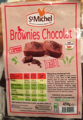 Brownies Chocolat - Produit - fr