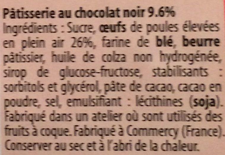 Brownies Chocolat - Ingrédients - fr