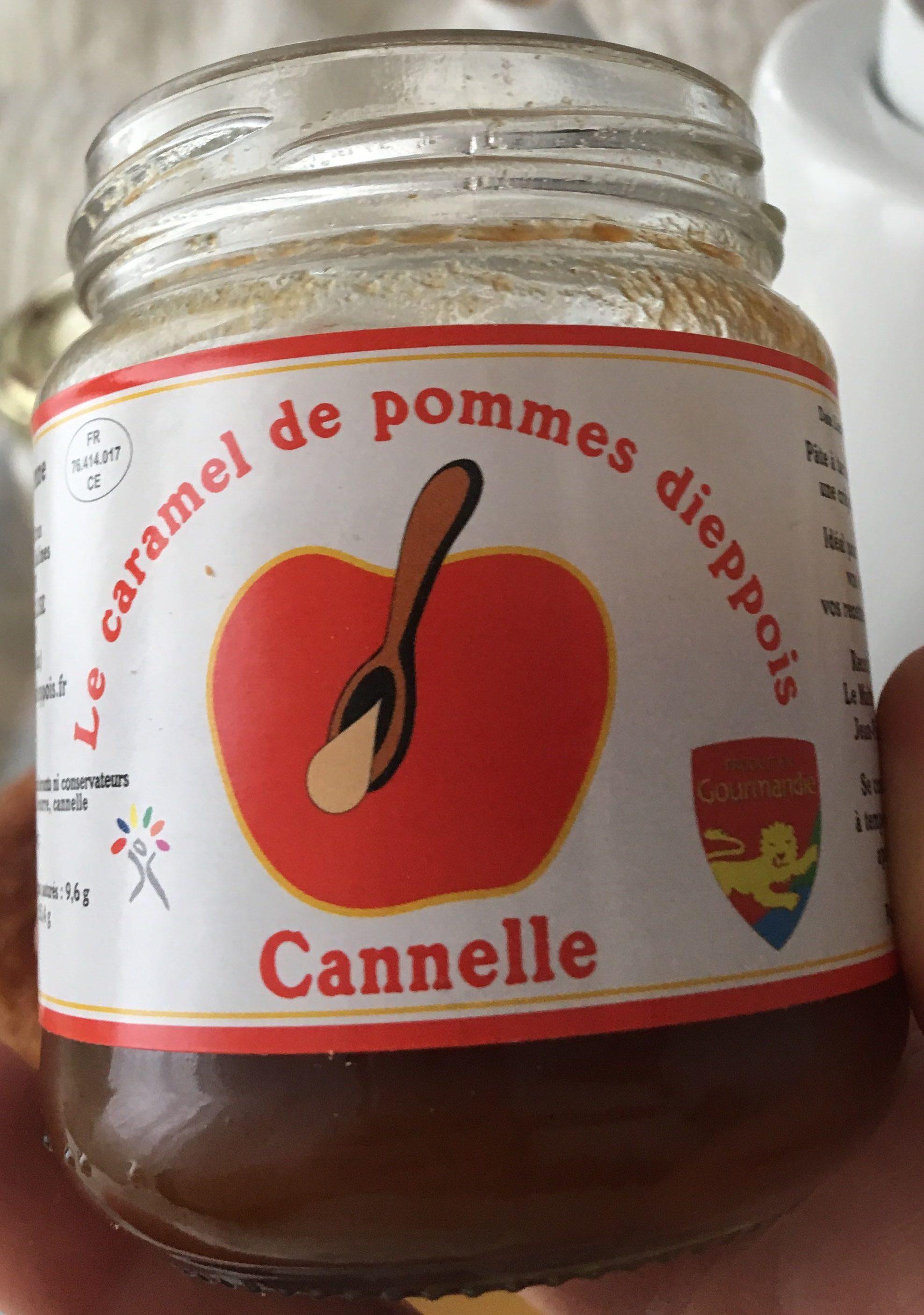 Le caramel de pommes dieppois Cannelle - Product - fr
