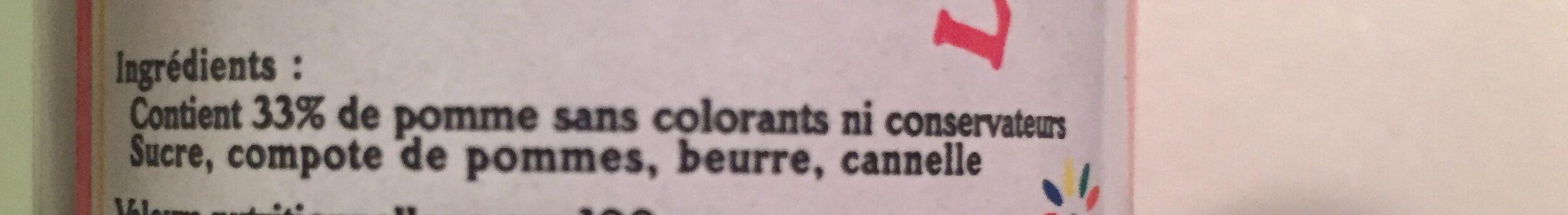 Le caramel de pommes dieppois - Ingrediënten - fr