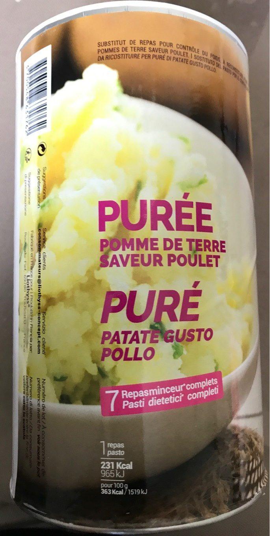 Purée De Pommes De Terre Poulet - Produit - fr