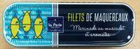 Filets maquereaux marinade au muscadet et aromate - Produit - fr