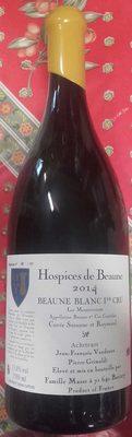 Hospices de Beaune cuvée Suzanne et Raymond Beaune blanc 1er cru 2014 - Product - fr