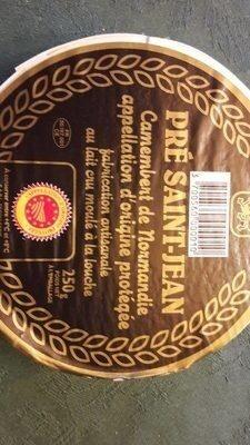 Camembert de Normandie Pre Saint Jean - Product - fr