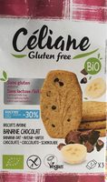 biscuit avoine banane chocolat - Product