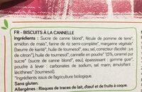 Spéculoos - Ingredients - fr