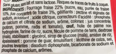 Moelleux Coeur Fraise - 210 G - Les Recettes De Céliane - Ingrédients