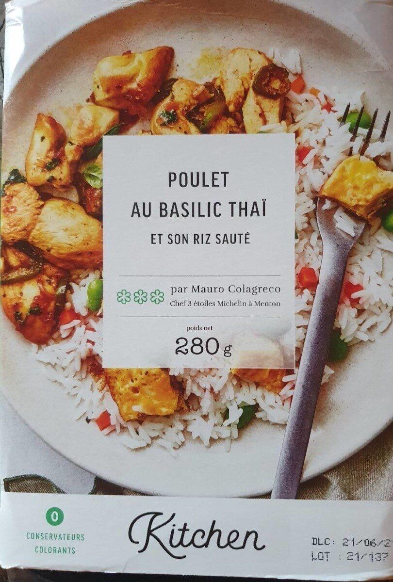 Poulet au basilic thaï - Produit - en