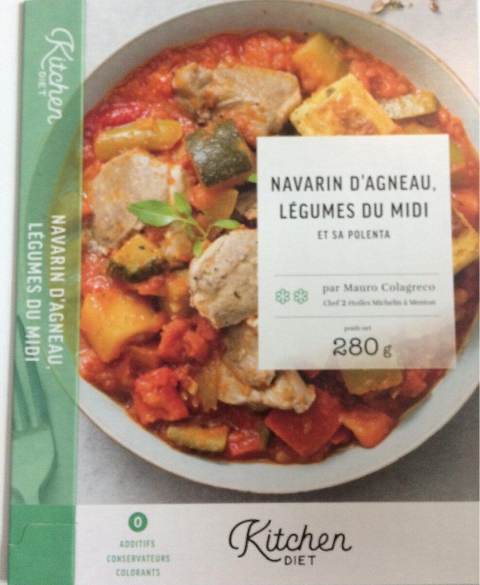 Navarin d'agneau, légumes du midi et sa polenta - Produit - fr