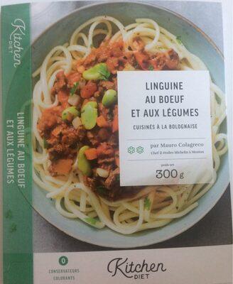 Linguine au boeuf et aux légumes cuisinés à la bolognaise - Produit - fr
