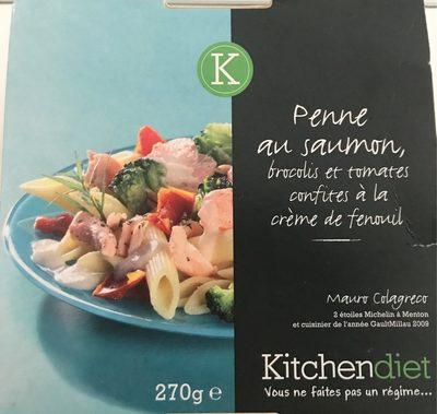 Penne au saumon - Produit - fr