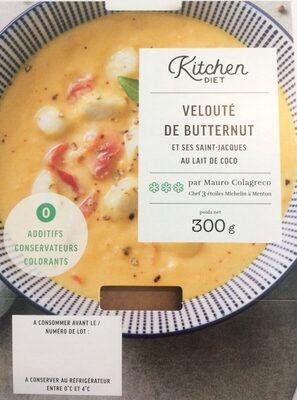 Velouté de butternut et ses St Jacques au lait de coco - Produit - fr