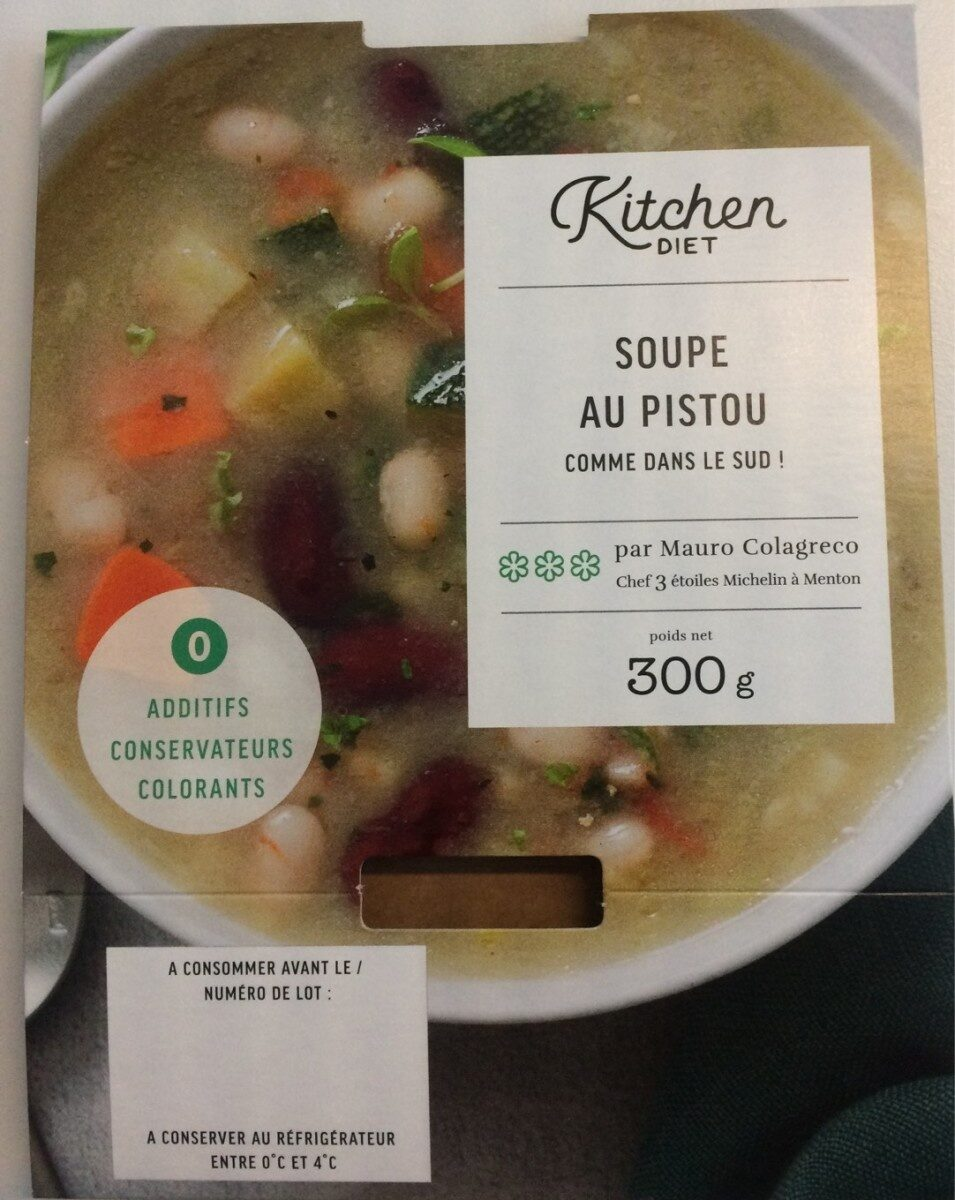 Soupe au pistou comme dans le sud ! - Produit - fr