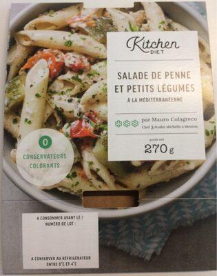 Salade de penne et petits légumes à la mediterranéenne - Produit - fr