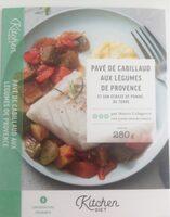 Pavé de cabillaud aux legumes de provence et son écrasé de pomme de terre - Produit - fr