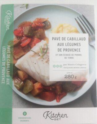 Pavé de cabillaud aux légumes de Provence et son écrasé de pomme de terre - Produit - fr