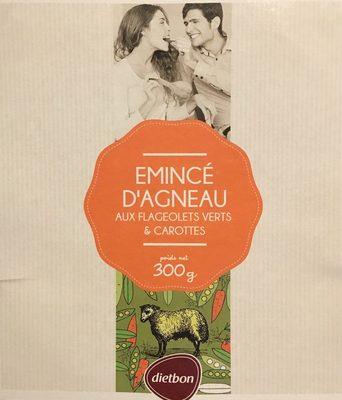 Émincé d'Agneau aux Flageolets Verts et Carottes - Produit - fr