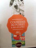 Couscous poulet et ses petits legumes - Produit