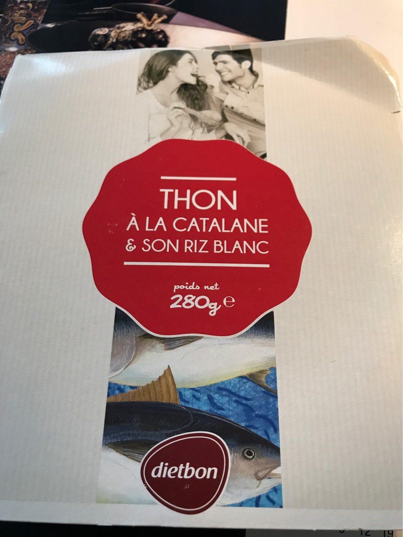 Thon à la Catalane et son riz blanc - Produit - fr