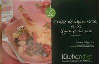 Cuisse de Lapin rôtie et ses légumes du Sud - Produit - fr