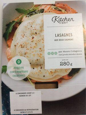 Lasagnes aux deux saumons - Produit - fr