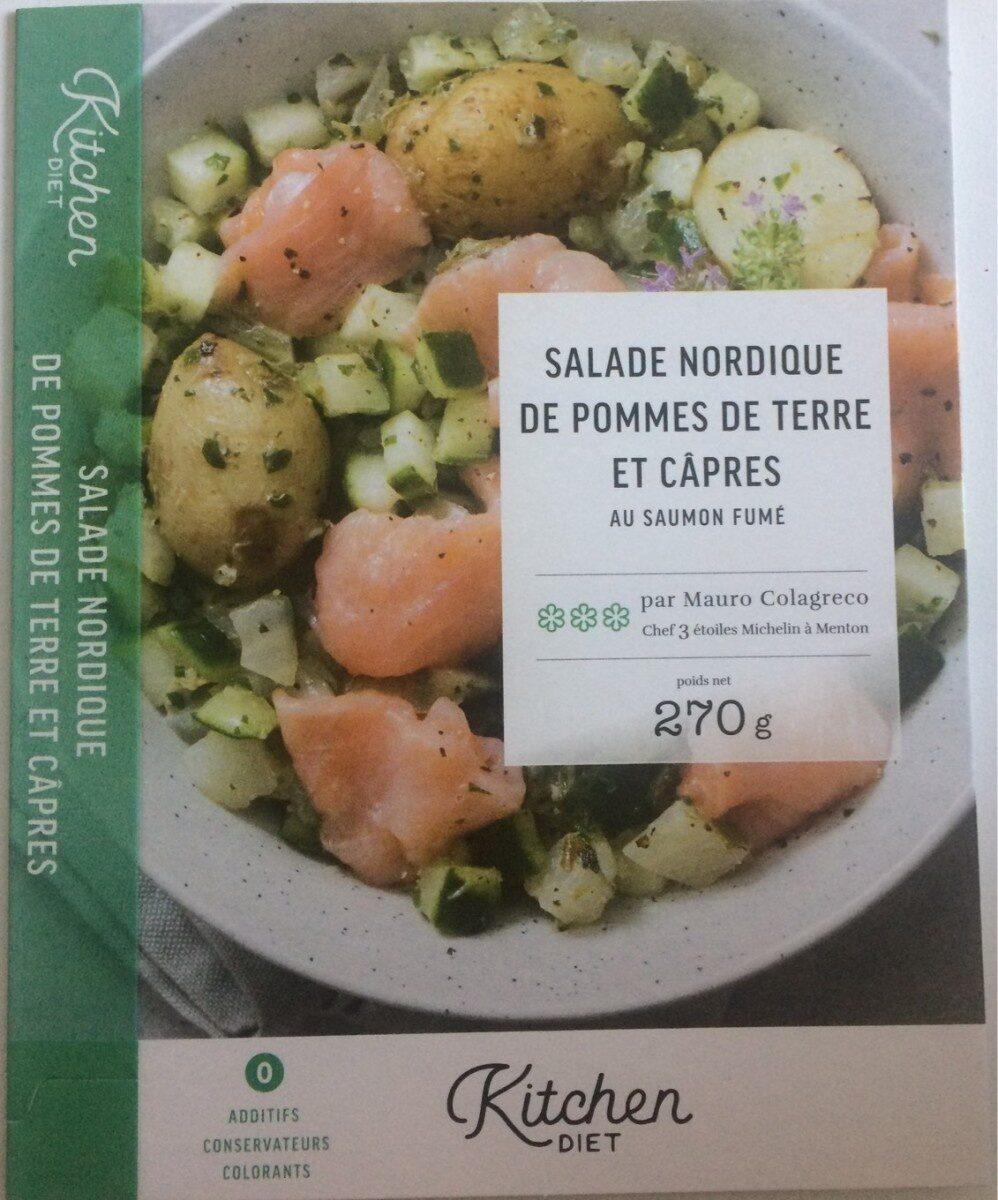 Salade nordique de pommes de terre et câpres au saumon fumé - Produit - fr