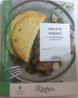 Omelette fondante et ses champignons en persillade - Produit - fr