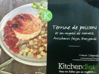 Terrine de poissons et son rougail de tomate, artichauts façon Barigoule - Produit - fr