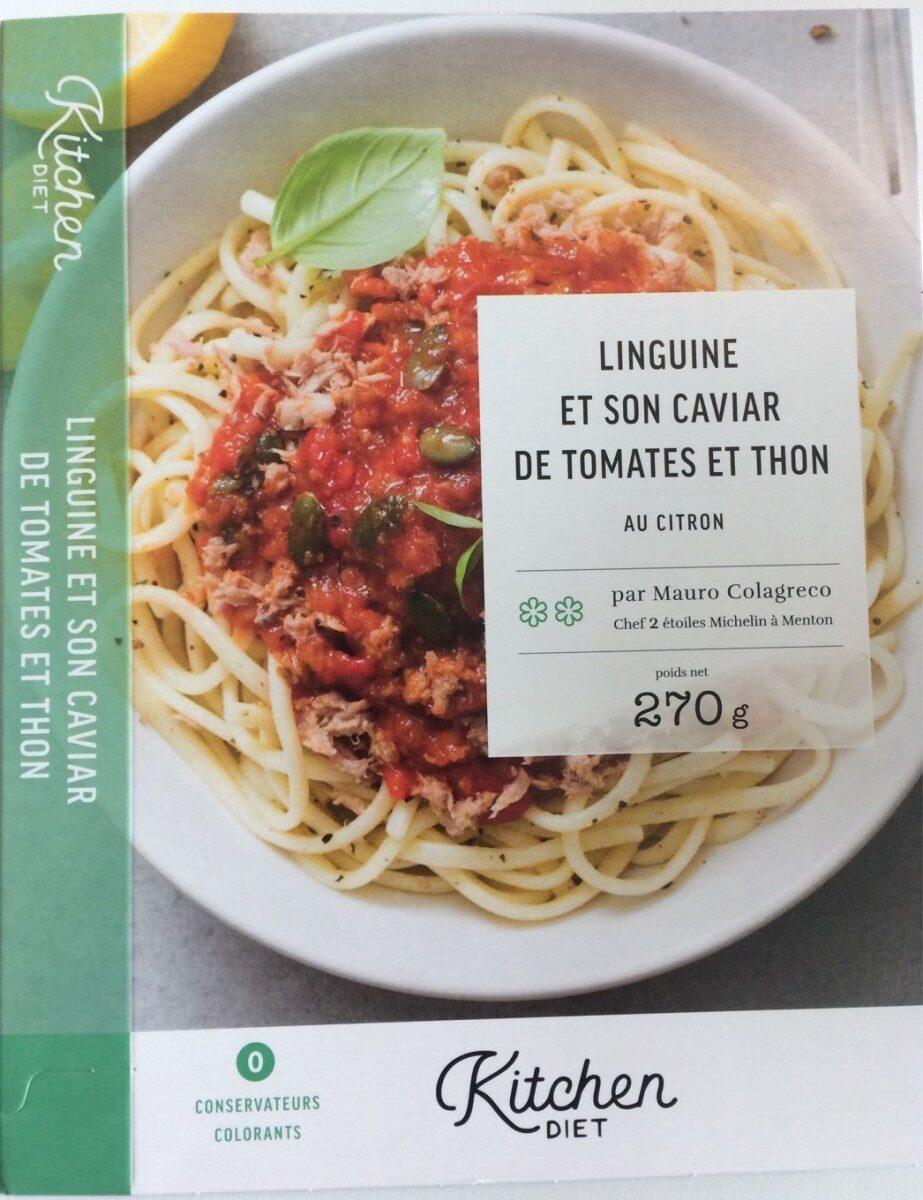 Linguine aux tomates et thon - Product