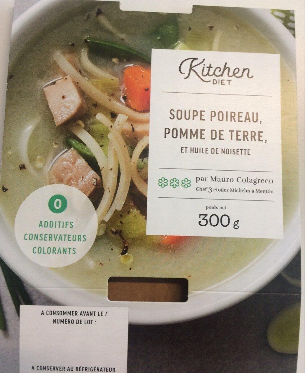 Soupe poireau pdt huile de noisette - Product