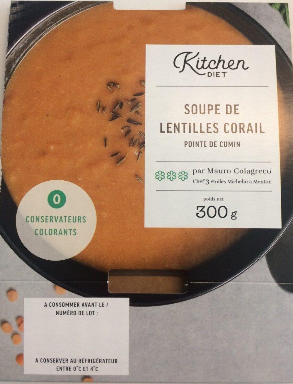 Soupe lentilles corail pointe cumin - Product