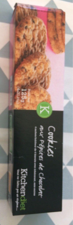 Cookies aux pepites de chocolat - Produit